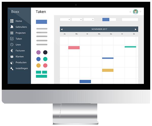 online project management boxxpro deadline view